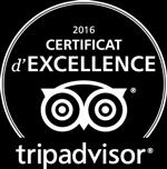 tripadvisor certificat d'excellence 2016